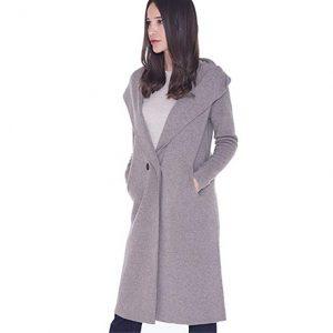 abrigo de cashmere para mujer