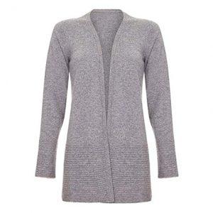 abrigo cashmere corto mujer