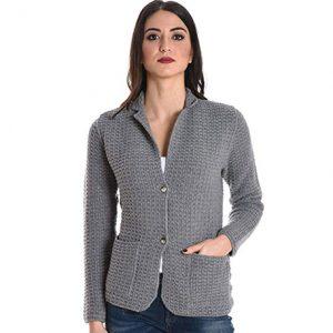 chaqueta de cachemir para mujer