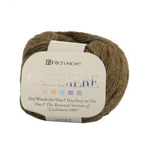 ovillo de lana cachemir caqui
